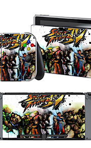 B-Skin®   Street Fighter Cover Sticker For Nintendo Switch Novelty Portable