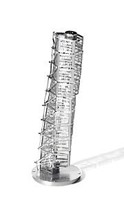 Quebra-Cabeças 3D Quebra-Cabeças de Metal para presente Blocos de Construir Modelo e Blocos de Construção Construções Famosas Arquitetura