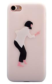 Per Fantasia/disegno Custodia Custodia posteriore Custodia Cartone animato Morbido TPU per AppleiPhone 7 Plus iPhone 7 iPhone 6s Plus