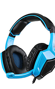 sades SA-920 5 i en stereo gaming headset hodetelefoner med mikrofon for laptop / PS4 / Xbox 360 / PC / mobiltelefon gamer