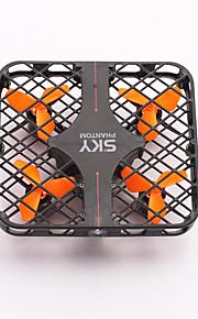 Drone RC 4CH 6 Eixos 2.4G - Quadcópero com CRIluminação De LED Retorno Com 1 Botão Seguro Contra Falhas Modo Espelho Inteligente Vôo