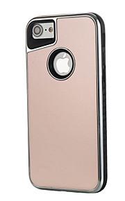 Per Resistente agli urti Effetto ghiaccio Custodia Custodia posteriore Custodia Tinta unita Resistente PC per AppleiPhone 7 Plus iPhone 7