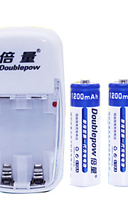 AA Nickel Cadmium Rechargeable Battery 1.2V 1200mAh 2 Pack
