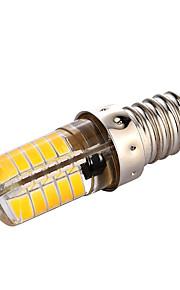 3W E14 נורות שני פינים לד T 40 SMD 5730 200-300 lm לבן חם לבן קר דקורטיבי AC110 AC220 V חלק 1