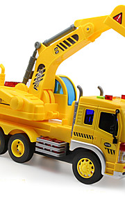 Construction Vehicle Toys 1:50 Plastic Yellow