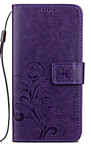 For Redmi 4 Prime Card Holder Wallet with Stand Embossed Case Full Body Case Solid Color Hard PU Leather for Xiaomi Redmi 4 4A Note4 Xiaomi Note2