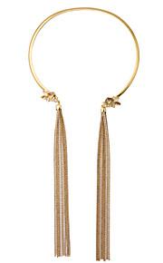 Dame Halskædevedhæng Smykker Frynsetip(s) Mode Personaliseret Euro-Amerikansk Guld Smykker For 1 Stk.