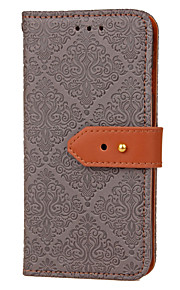 For Samsung Galaxy J7 Prime J3 Card Holder with Stand Flip Embossed Pattern Case Tile Hard PU Leather for J2 Prime J5 Prime J3 2016 ON5 2016 ON5 2016