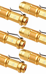 Iluminação Lanternas LED LED 1500 Lumens 3 Modo Cree XP-E R2 14500 Foco Ajustável Campismo / Escursão / Espeleologismo Uso Diário Exterior