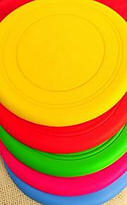 Игрушка для собак Игрушки для животных Летающие тарелки Прочный Пластик Цвет отправляется в случайном порядке