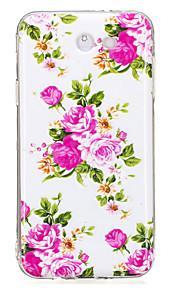 For Samsung Galaxy J5 J3 (2017) Case Cover Rose Flower Pattern Luminous TPU Material IMD Process Soft Case Phone Case J5 J3 J7 (2016) J7(2017)