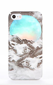 Voor Patroon hoesje Achterkantje hoesje Landschap Hard PC voor AppleiPhone 7 Plus iPhone 7 iPhone 6s Plus iPhone 6 Plus iPhone 6s Iphone