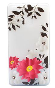 For Rhinsten Lyser i mørket Syrematteret Gennemsigtig Mønster Etui Bagcover Etui Blomst Blødt TPU for HuaweiHuawei P9 Lite Huawei P8 Lite