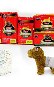 Hund Reinigung Handtücher Haustiere Pflegezubehör Wasserdicht Weiß