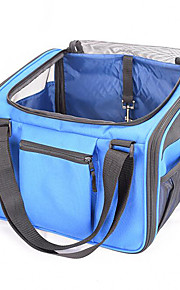 Cat Dog Carrier & Travel Backpack Pet Carrier Portable Breathable Solid Blue