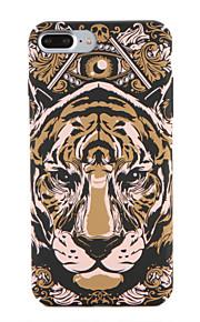 Para Apple iphone 7 7plus caso de padrão caso de capa traseira animal rígido pc 6s mais 6 mais 6s 6