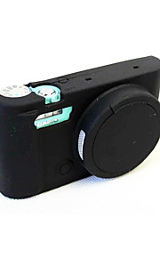 Capa-Preto Azul--Um Ombro-Casio-Câmara Digital