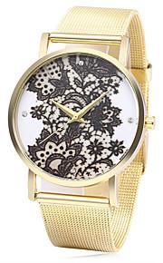 JUBAOLI Mulheres Relógio de Moda Quartzo Colorido Aço Inoxidável Banda Pendente Dourada Preto Azul Escuro Vermelho Verde Rosa claro