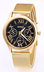 Men's Fashion Watch Chinese Quartz Stainless Steel Band Cool Rose Gold