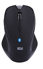 Modao ergonómico 6d bluetooth ratón inalámbrico con una conexión clave