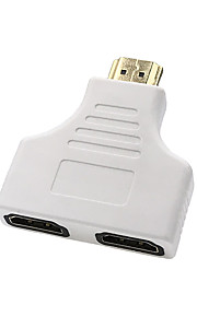 Cwxuan® HDMI Male to 2 HDMI Female Adapter / Converter