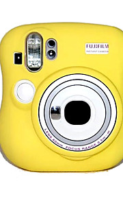 -Etui-Fujifilm-En-Skulder--Gul Pink Blå