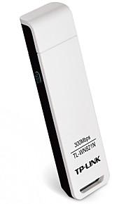 Tp-link usb sem fio wifi adaptador 300mbps rede sem fio lan cartão tl-wn821n versão chinesa