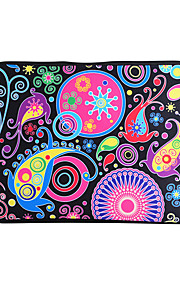 For MacBook Air / Pro / Retina 13 inch Universal Laptop Sleeves Oil Painting Cartoon Pattern Canvas Material