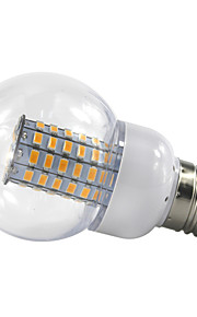 4.5W E27 LED-globepærer 69 SMD 5730 420 lm Varm hvit Kjølig hvit V 1 stk.