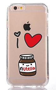 För iPhone 7 tecknad film tpu mjuk ultra-tunn baksida cover fodral för Apple iPhone 7 plus 6s 6 plus se 5s 5 5c 4s 4