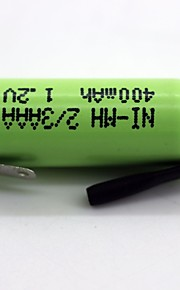 Ni-MH-2 / 3aaa 400mAh 1,2V