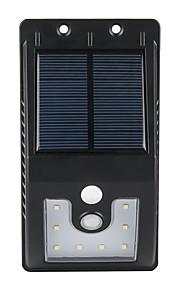 1個の屋外太陽光発電10 smd ledモーションセンサーウォールライトガーデンランプ