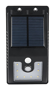 1pcs im Freien Solar angetriebene 10 smd LED-Bewegungssensor-Wandlicht-Gartenlampe