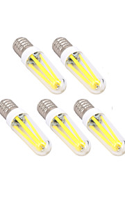 4W E14 G9 LED-glødepærer T 300 lm Varm hvit Kjølig hvit Dimbar AC 220-240 V 5 stk.