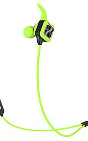 Bluetooth auriculares inalámbricos auriculares deportivos auriculares estéreo bajos con gancho de oreja mic micrófono de voz sin manos de