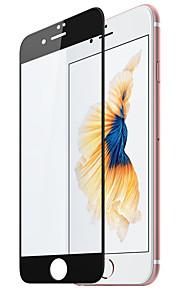 For Apple iPhone 7 pluss frontskjermbeskytter herdet glass fullskjerm stålfilm svart