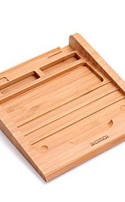 Statief tablet stand houten Rubber Origineel keukengerei tablet houder