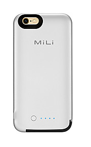 mili powercoreケースforbattery case 3500mahの予備バッテリー付きapple mfi certified iphone 6 6s
