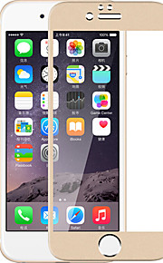 For iphone 7 full skjerm dekket med titan legering herdet glass film film