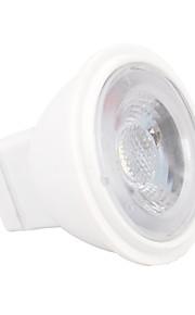 2W GU4(MR11) LED-spotpærer MR11 3 SMD 2835 180~210 lm Varm hvit Kjølig hvit Dimbar V 1 stk.