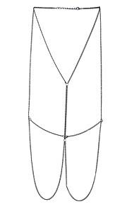 Dame Kropssmykker Krops Kæde / mavekæde Venskab Mode Boheme Stil Håndlavet Movie smykker Legering Geometrisk form Smykker ForFødselsdag