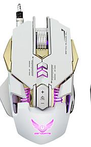 7 botones llevó ratón mecánico 3200dpi usb ratón óptico ratón de juegos de ordenador pc gamer para periféricos de computadora portátil