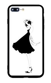 아이폰 7 플러스 7 케이스 커버 패턴 다시 커버 케이스 섹시한 여자 만화 소프트 쉘 아이폰 6s 플러스 6 플러스 6s 6 5s 5 se