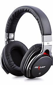 אוזניות B5 קלטות אוזניות אלחוטיות אוזניות נוחות גבוהות דיבורי ידיים ללא תשלום שיחות סטריאו