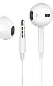 For xiaomi / redmi ximalong zestaw słuchawkowy stereo stereo zestaw słuchawkowy stereo biały