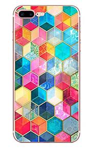 애플 아이폰 7 7 플러스 6s 6 플러스 케이스 커버 입체 패턴 hd 페인트 tpu 소재 소프트 케이스 전화 케이스