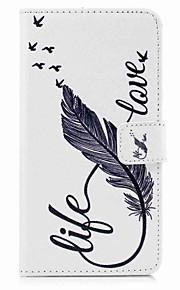 För fodral täcka mönster full kroppshölje med stylus fjädrar hårt pu läder för Apple iPod Touch 5 Touch 6