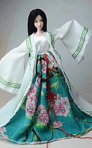 Vestido por Muñeca Barbie  Chaqueta Vestido Para Chica de muñeca de juguete