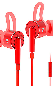 Em05 i-øret metal bas øretelefon højttalere med ørekontakt med trådstyret tuningfunktion