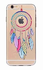 iphone 7 플러스 7 케이스 커버 반투명 패턴 뒷면 커버 케이스 드림 캐처 소프트 tpu iphone 6s plus 6 5s 5 se
